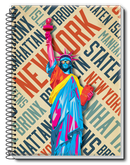 Caderno NY Feelings Estilo 1