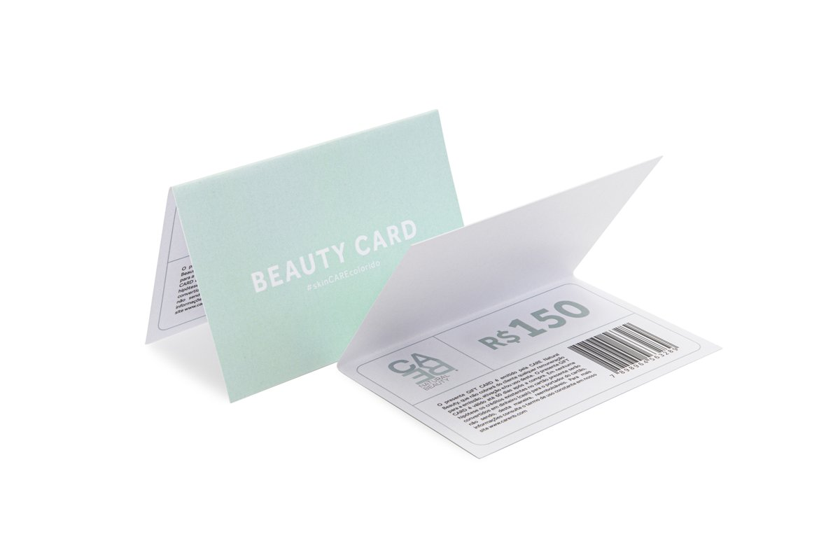 Beauty Card R$150,00