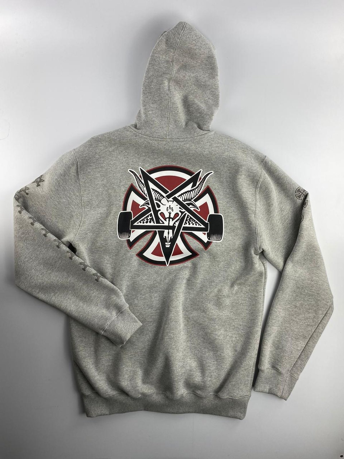 MOLETOM THRASHER X INDEPENDENT PENTAGRAM CROSS