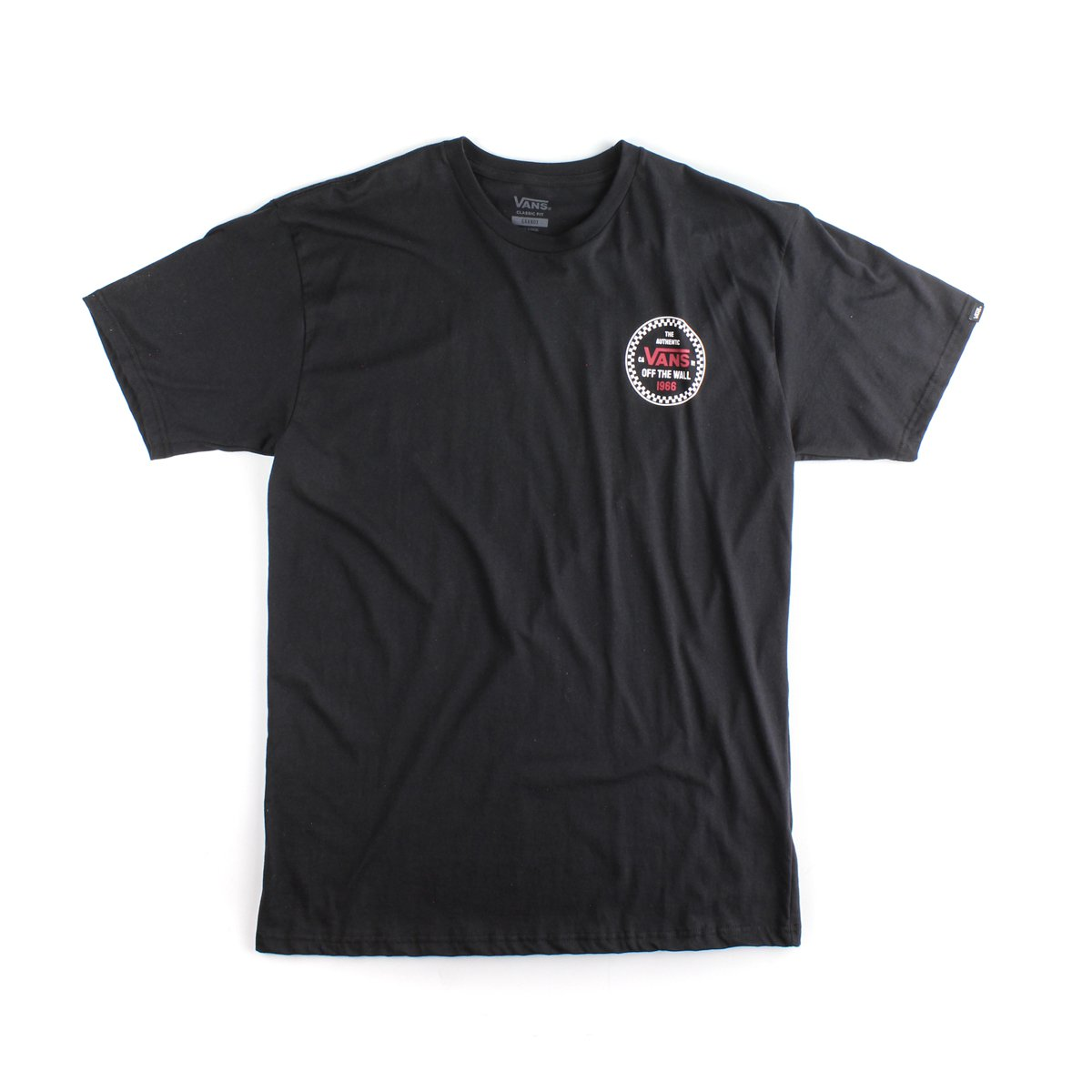 CAMISETA VANS CHECKER 66 SS BLACK