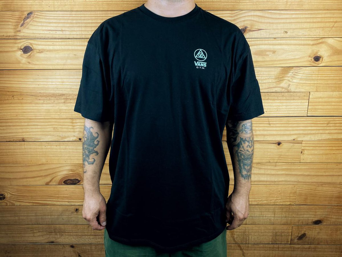 CAMISETA VANS THREE POINTS SS BLACK