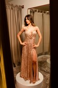 Vestido Transpasse Dreams Rose Gold