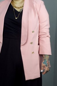 BLAZER GIRLBOSS ROSE