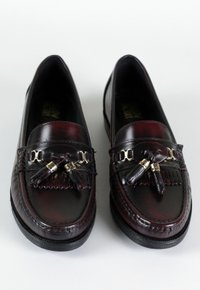 COLLEGE SHOES mocassim - vinho manchado