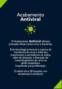 CAMISETA OCEANO ANTIVIRAL CLEAN BORDADA