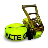 Kit Slackline 10 Metros Verde com Catraca 50mm Acte Sports