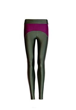 Legging Lycra Colours Verde Croco