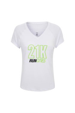 Camiseta Run Cities Mc Branco