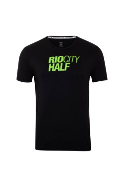 Camiseta Rio City Half Mc Preto