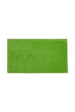Toalha Run Cities Esportiva Verde 30x50