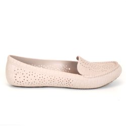 Mocassim EmporioNaka Pvc Candy Colors Nude