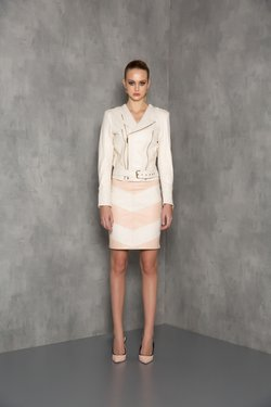 SAIA CHARLIE PELICA OFF WHITE & BLUSH