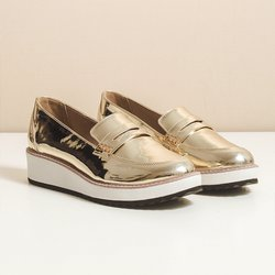 Loafer Stella Ouro