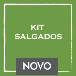 Coffee Delight - Kit Salgados