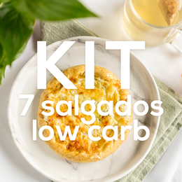 Kit 7 Salgados Low Carb