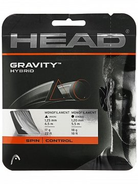 CORDA HEAD GRAVITY HYBRID 17L 1.25MM BRANCO - SET INDIVIDUAL
