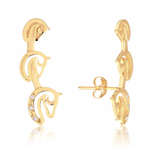 Brinco Invicta Ear Cuff II - Alice Knop