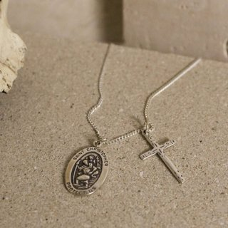 Colar - Cross 100% Prata | Cross Necklace 100% Silver
