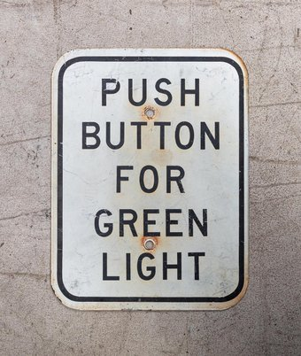 Placa Push button for green light