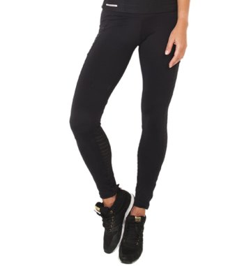 Legging Athlete Black Tulle