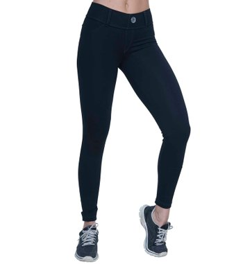 Legging Jeans Black Supplex