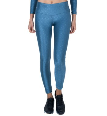 Legging Essencial Teal Jacquard