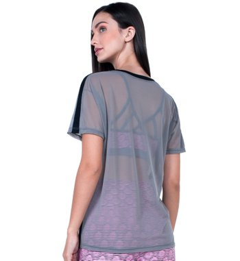 Blusa T-Shirt Tulle