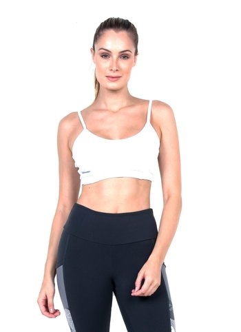 Top Basic  White  Supplex