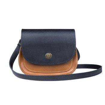 Bolsa SADDLE - Black / Caramel