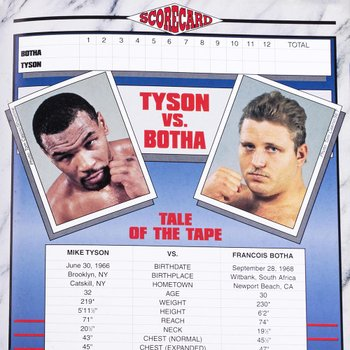 Revista Tyson vs Botha