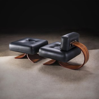 Alta Lounge  Chair & Ottoman