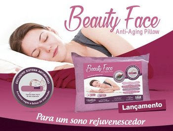 Travesseiro Beauty Face - Anti-rugas Duoflex