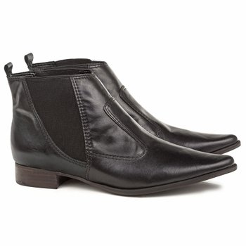 Bota New Shelby Couro Total Black