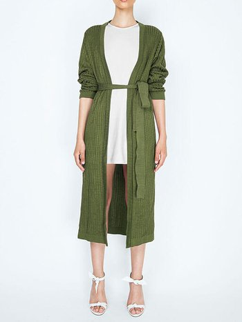Cardigan Genovia Green