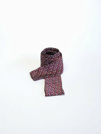 Skinny Scarf Red
