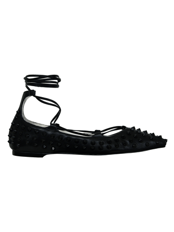 Sapatilha Lace Up Spike Preto