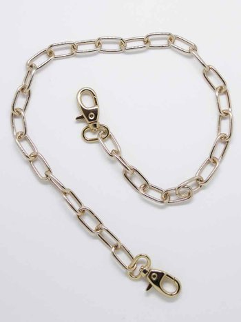 Wallet Chain Belt Dourado