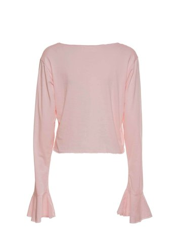 CROPPED FLOW PINK