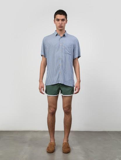 Paradise Shirt Azul Listrada