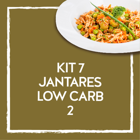 Kit 7 jantares low Carb 2