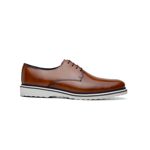 Sapato Masculino Derby Lucca Whisky