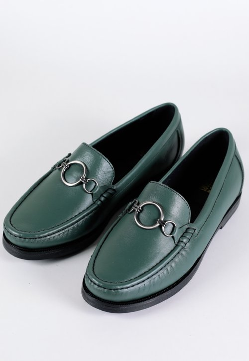 COLLEGE RING shoes - verde escuro