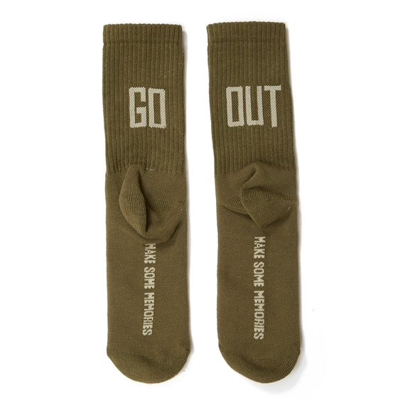 Go Out Socks Verde