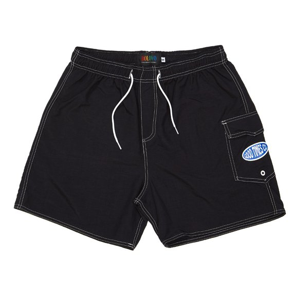 Side Pocket Shorts Preto