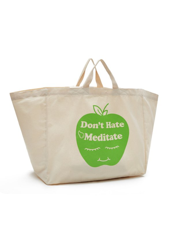 BOLSAS SINGAPURA TOTE DONT HATE MEDITATE