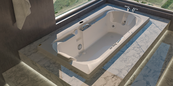 Foto do produto BANH HID JACUZZI YOUNG SP170X75X45,5 SPA
