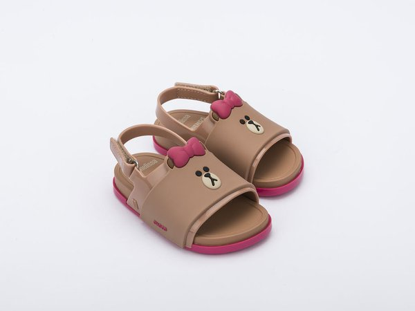Mini Melissa Beach Slide + Line Friends