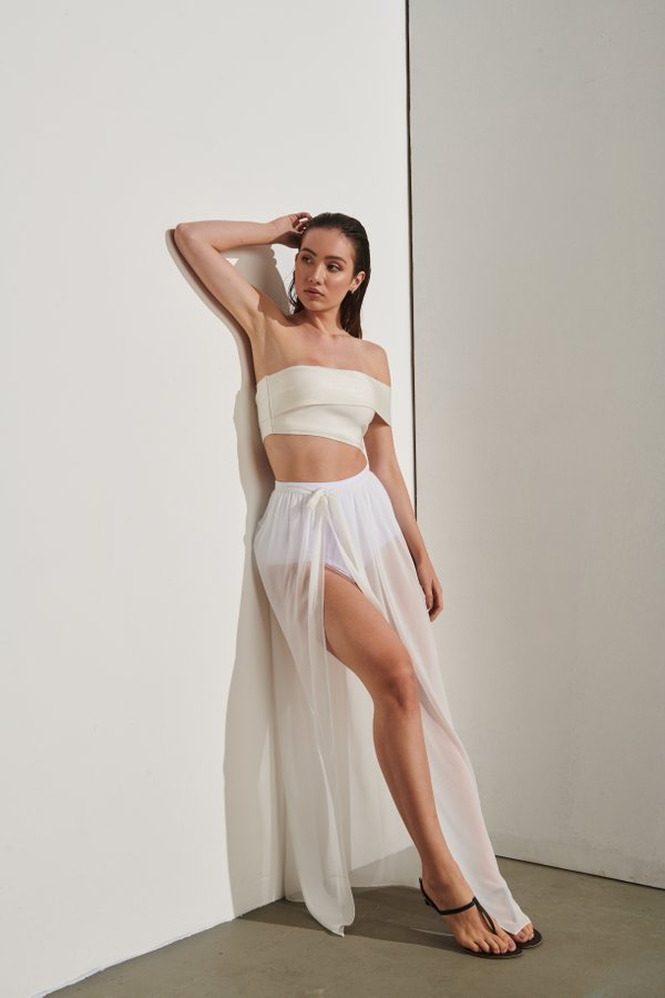 Foto do produto Saia Grace Bay Off-White | Grace Bay Skirt Off-White
