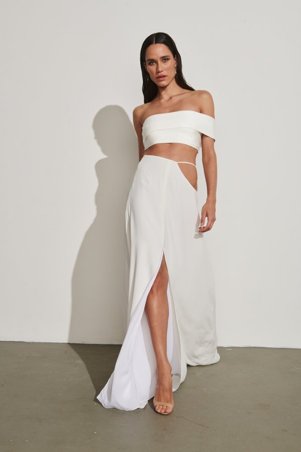 Foto do produto Saia Minorca Off-White | Minorca Skirt Off-White