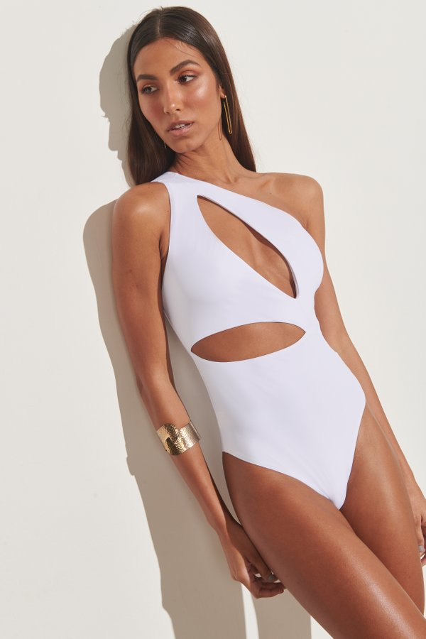 Foto do produto Body Cayman Branco | Cayman One-Piece White